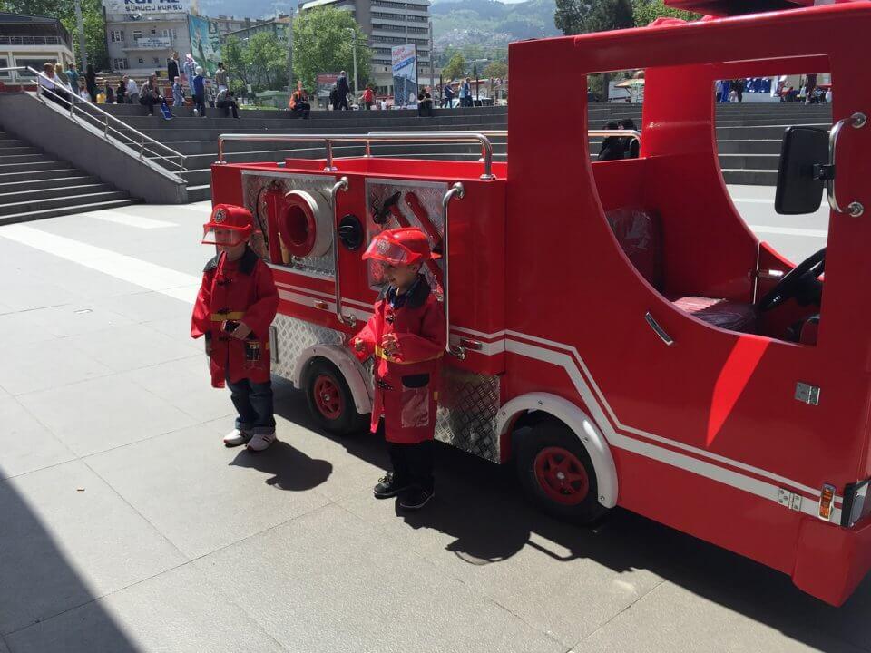 Mini İtfaiciler Bursa Kent Meydanı AVM